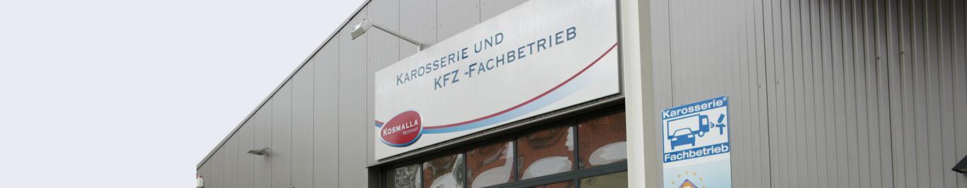 Der Autohof Kosmalla ist eine KFZ-Fachbetrieb, der über eine Mechanik-, Karosserie- und Lackierabteilung verfügt.
