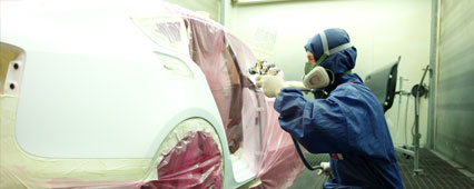 We repair any kind of damage reagrdless if it is a scratch or a dent.