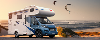 Rent a motorhome or trailer for your next holiday at Autohof Kosmalla in Leipzig.